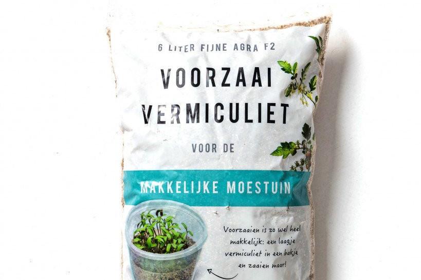 Voorzaai vermiculiet Makkelijke Moestuin